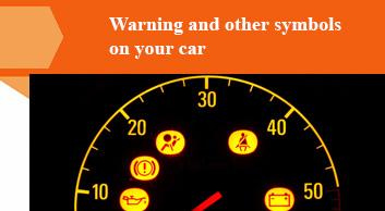 Warning and other symbols on your car - boodmo