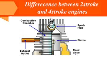 Difference between 2 Stroke and 4 Stroke Engine
