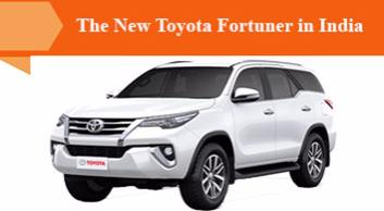 The New Toyota Fortuner in India