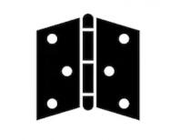 HINGE ASSY-FRONT DOOR