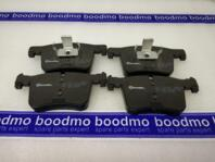 Front Brake Pad Set, disc brake