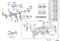 TOYOTA Genuine 71874-AA010-E0 Seat Cushion Shield