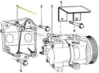 MAHINDRA THAR AC compressor in India | Car parts price list online