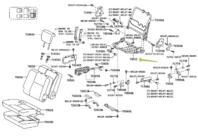 TOYOTA Genuine 79202-0C020 Seat Cushion Frame