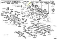 Genuine Toyota 67831-21030 Door Service Hole Cover