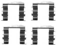 Mintex Front Brake Pad Accessory Fitting Kit MBA1664-5 YEAR WARRANTY