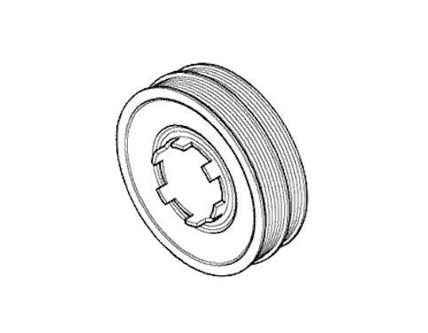 Pulley Crankshaft Suzuki Maruti 12611m68k00 Compatibility