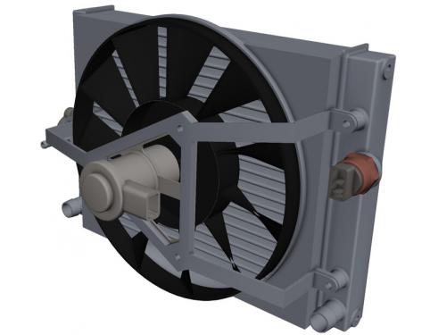 Japanparts VC-H08 Clutch radiator fan