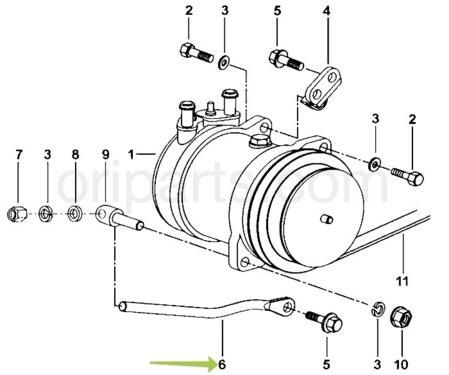 Brace Compressor Mahindra 0306ab0200n Compatibility Features