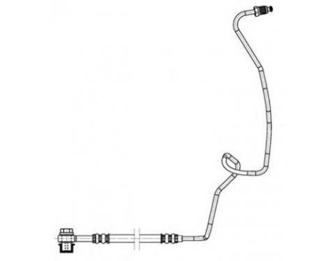 Rear Brake Hose and Pipe LEFT VW Audi SEAT SKODA 1J0611763