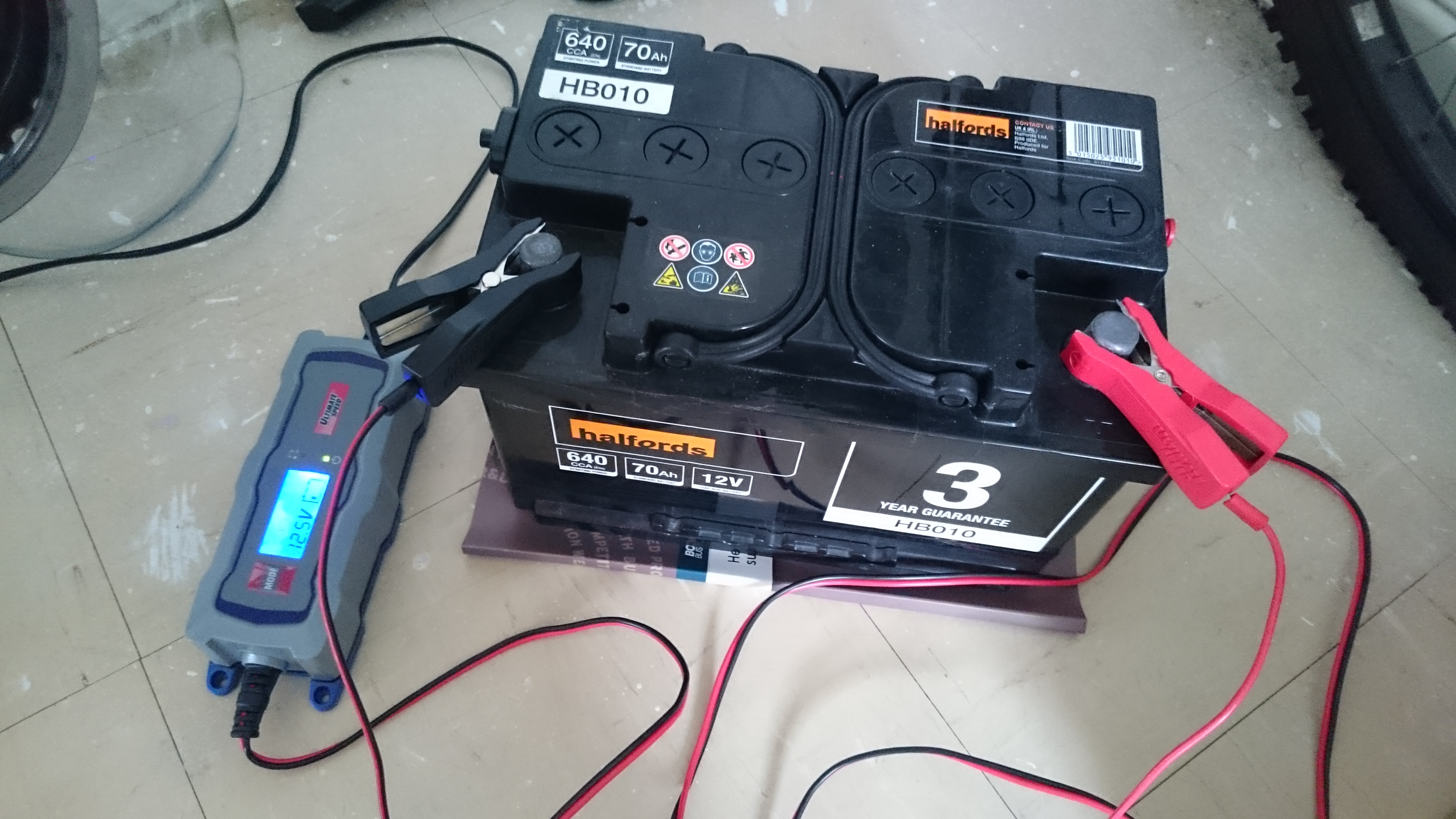How To Recharge A Car Battery