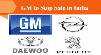 General Motors to Stop Car Selling in India