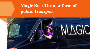 Magic Bus: The new form of public Transport