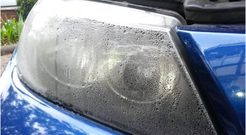 How to get condensation out of headlights