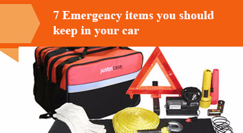 7 Emergency items you should keep in your car