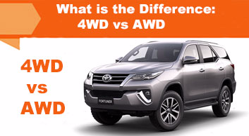 What is the difference: 4WD vs AWD
